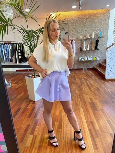 Imagem de Calções Lilás Joleen Fashion