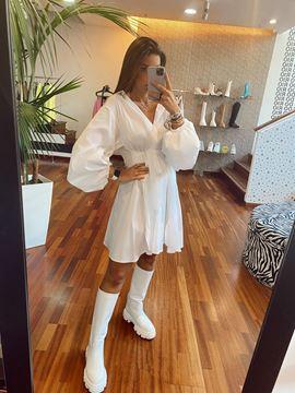 Imagem de Vestido Branco Imperial Fashion