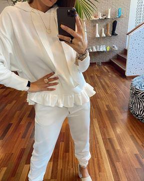 Imagem de Fato Treino Branco Joleen Fashion