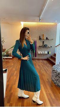 Imagem de Vestido Lurex Azul Vicolo