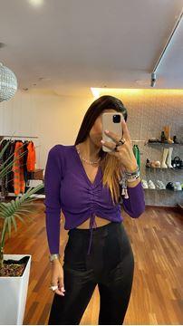 Imagem de Camisola Roxa Joleen Fashion